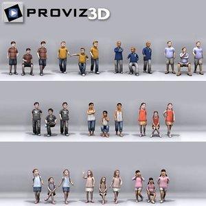 people: children model