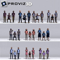people: children 3D model