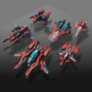 3D low-poly model