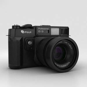 fujifilm fuji film 3D model