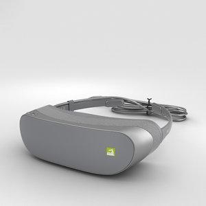 3D lg 360 vr model