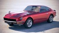 datsun 240z 1969 3D model