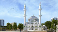 Turkish Mosque 3D model