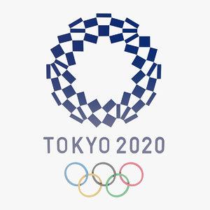 tokyo 2020 games logo 3D