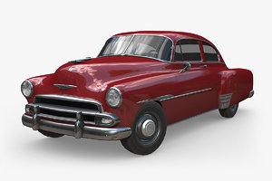 chevrolet fleetline 1951 3D model