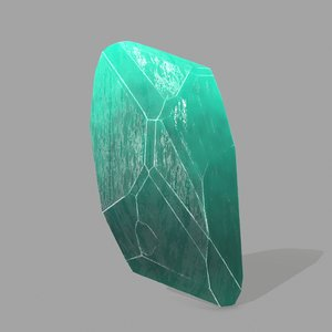 3D model crystal