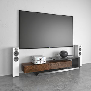 3D tv cabinet cattelan italia model