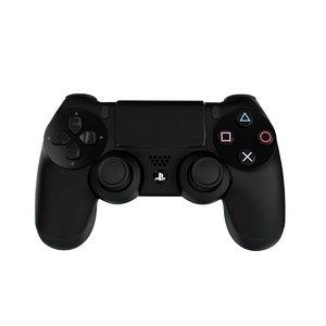ps4 joystick 3D model