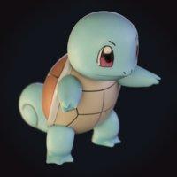 squirtle pokemon 3D model
