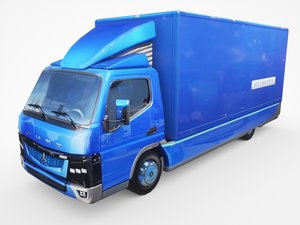 3D mitsubishi fuso ecanter model