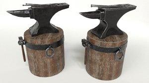 3D set designed model