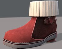 3D shoes cartoonv18 character cartoon