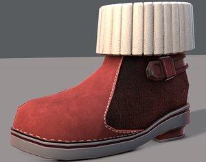 3D shoes cartoonv18 character cartoon