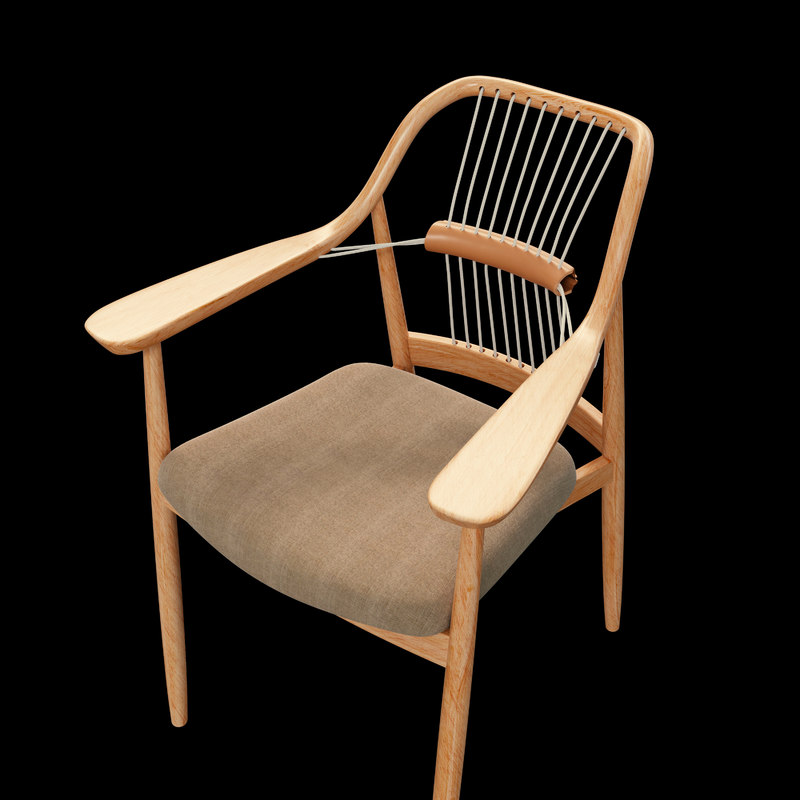 3D yamanami rope chair