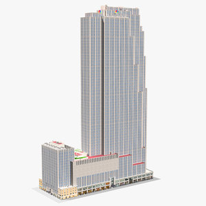 center comcast building model