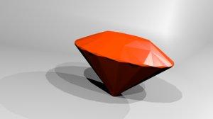3D mineral brilliant