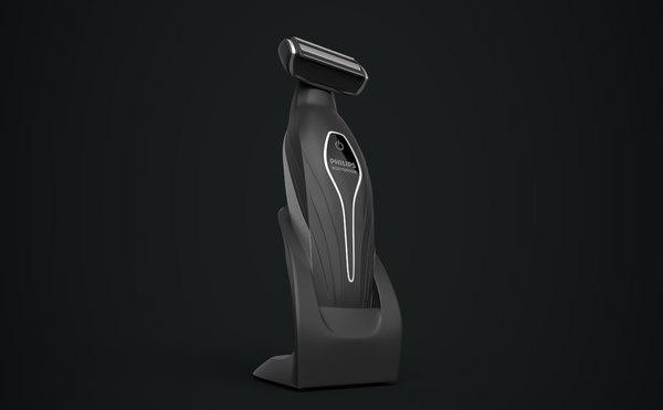 3D model philips bodygroom