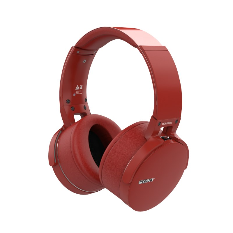 bluetooth headphones 3D model