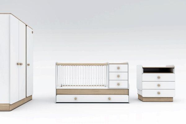 natura baby room set 3D model
