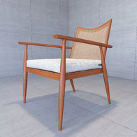paul mccobb lounge chair 3D