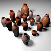 Pottery - vessels