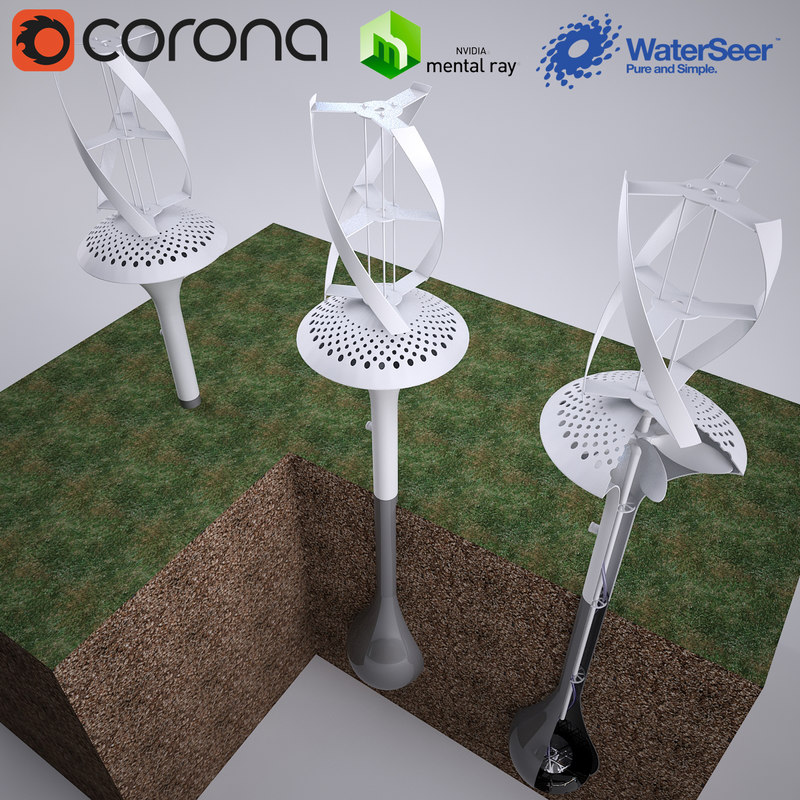 water generator waterseer 3D model