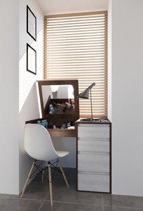 3D bedroom vanity furniture