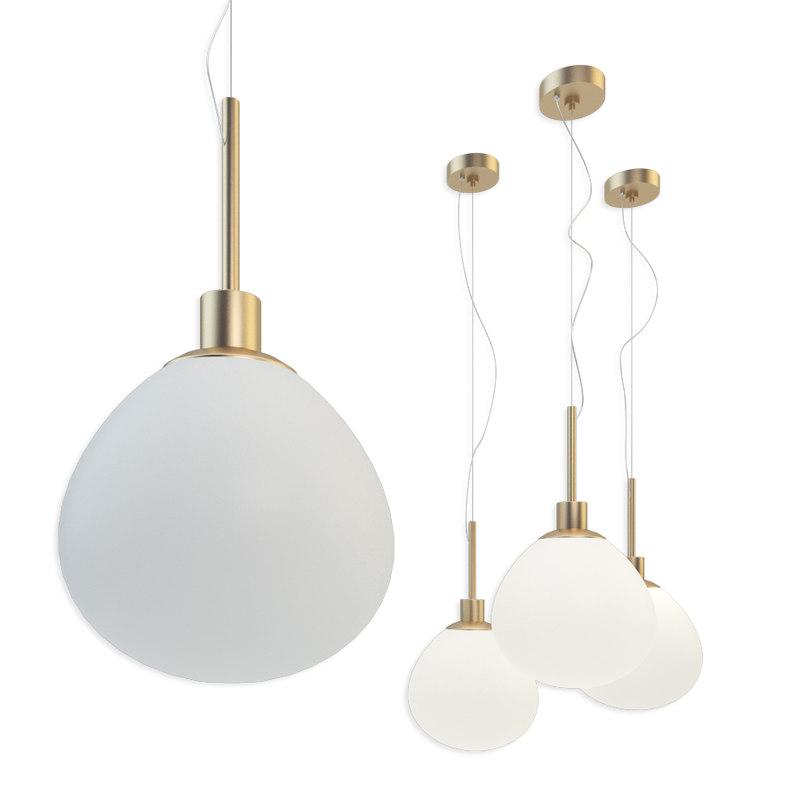 suspension light maytoni erich 3D model