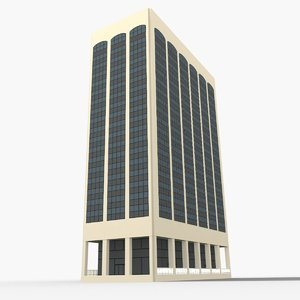 3D model midland building columbus
