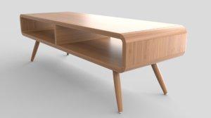 modern coffee table model