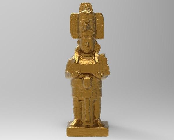 scan statue 3D model