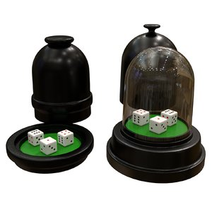 dice cup 3D model