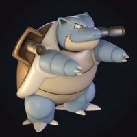 blastoise pokemon model