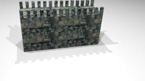 3D castle model