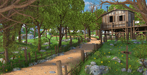 path mountain house model