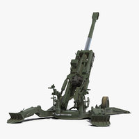 Howitzer M777 155mm Rigged