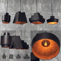 ceiling lamp loft 3D model