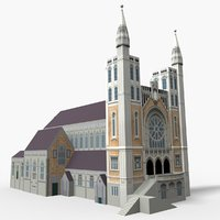 st mary angels wellington 3D model