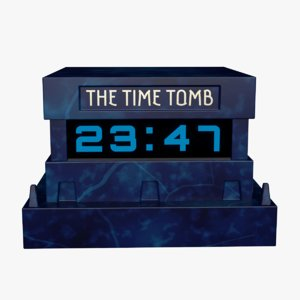 time tomb settable table 3D model