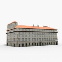 palazzo chigi 3D model