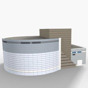 3D nantes congress centre