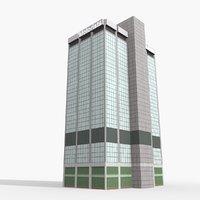 3D motorists mutual building columbus model