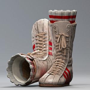 3D boxing shoes everlast