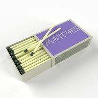 matches boxes 3D