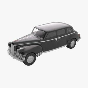 3D retro toy car