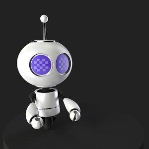 3D microbot model