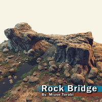 3D rock bridge
