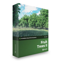 CGAxis Models Volume 105 - Fruit Trees FBX OBJ