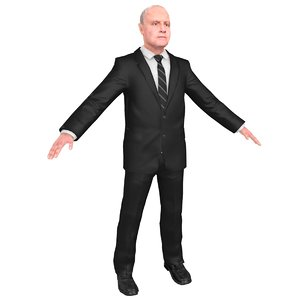 3D model anthony hopkins