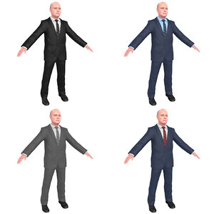 pack anthony hopkins 3D model